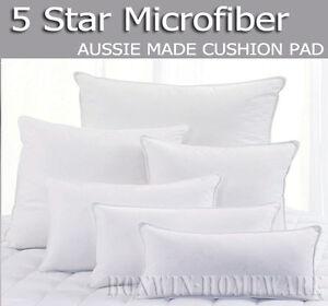 OZ-MADE-5-STAR-MICROFIBER-EUROPEAN-PILLOW-BREAKFAST-CUSHION-INSERT-PAD-HIGH-FILL