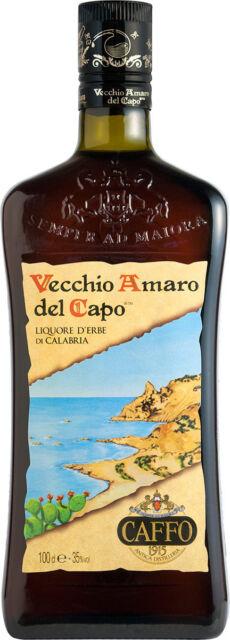 Caffo Vecchio Amaro del Capo Kräuterlikör 1 l aus Italien