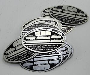 Reproduction-B17-forward-fuselage-data-plate-GC9