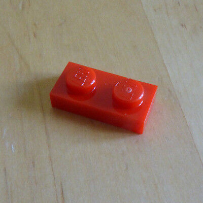 city marvel Lego 3023-1x2 plate in Orange NEW pack of 20 friends