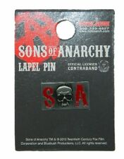 Sons of Anarchy TV Series S Skull A Logo Metal Enamel Costume Pin