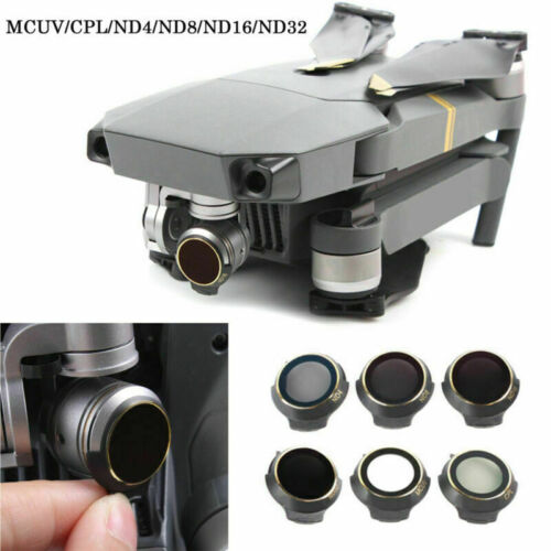 Camera Filter MCUV//CPL//ND4//ND8//ND16//ND32 Lens Cover for DJI Mavic Pro Quadcopter
