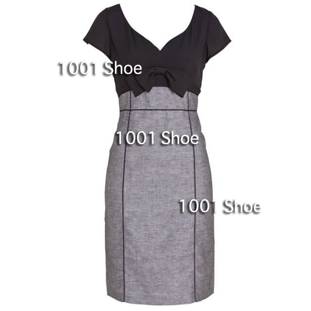 new RRP $150 JACQUI E TWO TONE BUSINESS DRESS 12