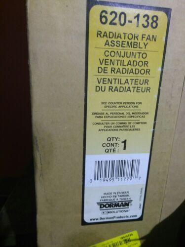 Cooling Fan 1 NEW  Dorman ASSEMBLY FAN  620-138