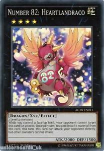 AC18-EN011-Number-82-Heartlandraco-Super-Rare-1st-Edition-Mint-YuGiOh-Card