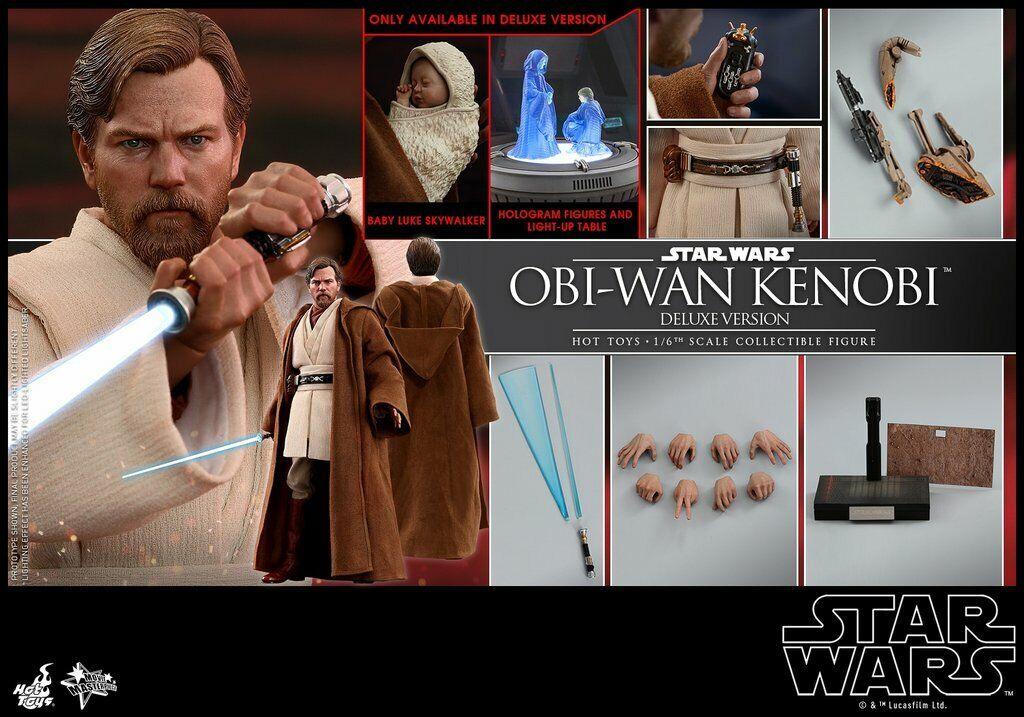 Caliente giocattoli estrella  guerras Obi-Wan Kenobi Deluxe cifra Episode 3 Revenge of the Sith  prodotti creativi