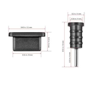 Staubschutz-Abdeckung für USB-Typ-C und 3,5mm Audio Huawei P Smart 2021