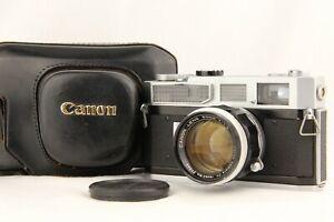 Exc-5-mit-Case-Canon-7-Rangefinder-Kamera-mit-50mm-f-1-4-l39-Lens-aus-Japan