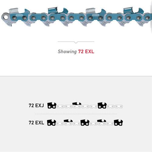 "3//8/"" x .050/"" Oregon 72EXL066G 66 Drive Links Powercut Saw Chain Gauge"