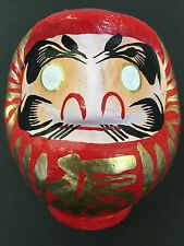 Daruma 120mm Japanese Tumbling Doll Dharma Lucky Made in Japan Happy