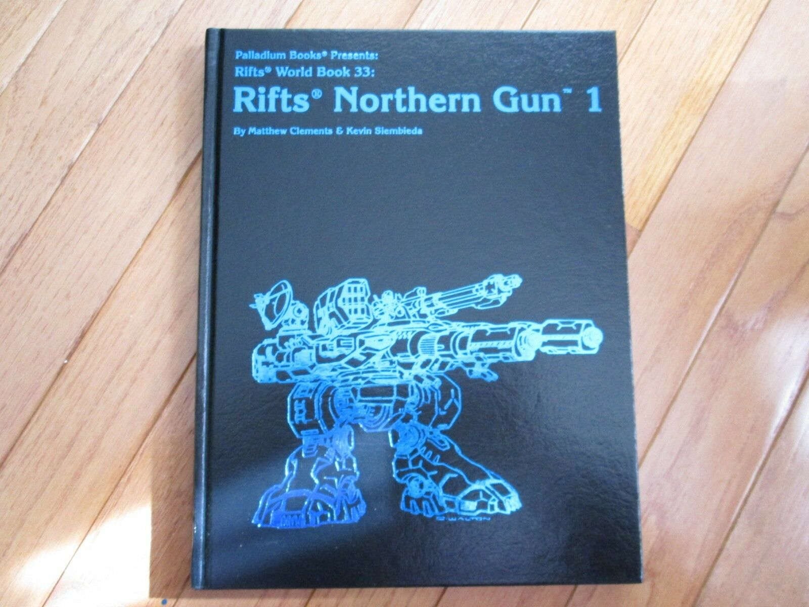 Palladium Rifts World Book 33 Rifts Northern Gun Gun Gun 1 HC Signed Printer Proof Ed 5c5014