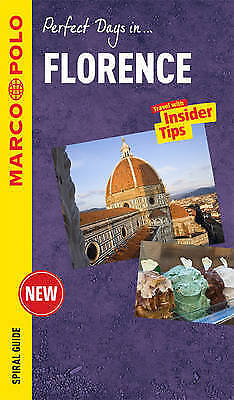 Florence Marco Polo Travel Guide - with pull out map (Marco Polo Spiral Guides)