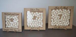 Personalised-Rustic-Wedding-Drop-Box-Wooden-Guest-Book-Hearts-Wooden-Oak