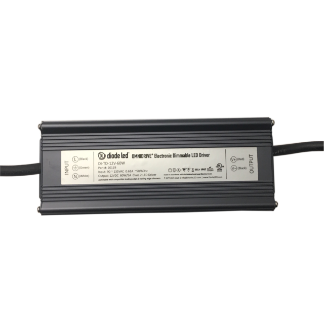 DIODE LED DI-TD-12V-60W 12V OMNIDRIVE DRIVER DIMMABLE