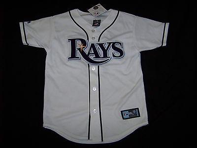 buy online 0ae52 670ef Majestic Youth Tampa Bay Rays #18 Ben Zobrist Jersey NWT Medium | eBay