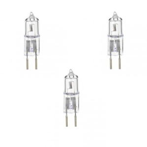 x-3-GE-75w-12v-Halogen-GY6-35-Capsule-Bulbs-2700k-1350-Lumens-10mm