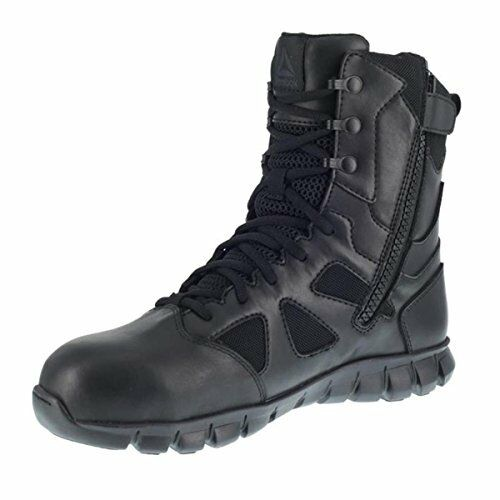 Reebok Work Sublite Tactical Homme 8  Comp Toe Imperméable Bottes-Pick sz couleur.