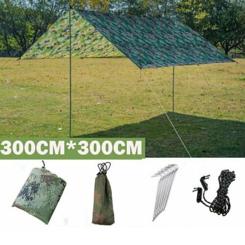Hängematte Wasserdichte Camping Zelt Tarp Leichte Sonnenschutz Shelter UV Schutz