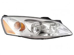 Pontiac G6 Sedan Coupe 2005 2006 2007 2008 2009 10 Right Passenger Headlight Ebay