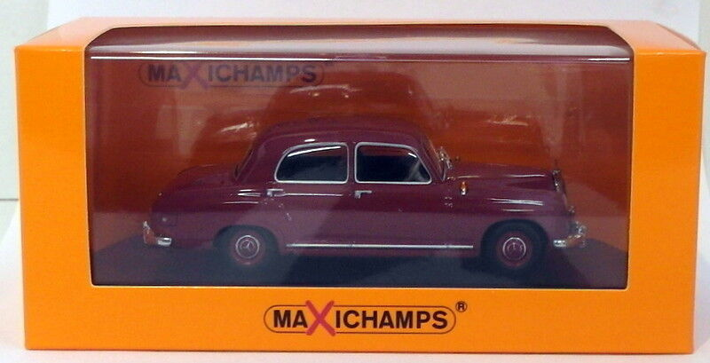MAXI Champs 1 43 Scale Diecast 940 033101 - 1955 MERCEDES BENZ 180-rosso