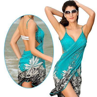 Sexy Women's Swimwear Bikini Cover up Bohemian Beach Dress Bathing Suit Swimsuit