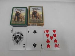 AMERICAN-EXPEDITION-GRIZZLY-BEAR-DECK-PLAYING-CARDS-COMPLETE