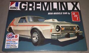 AMT-1974-AMC-Gremlin-X-1-25-scale-plastic-model-car-kit-new-1077