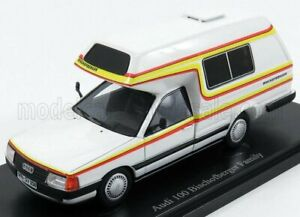 AUTOCULT 1/43 AUDI | 100 TYPE 44 BISCHOFBERGER FAMILY CAMPER GERMANY 1985 | W...