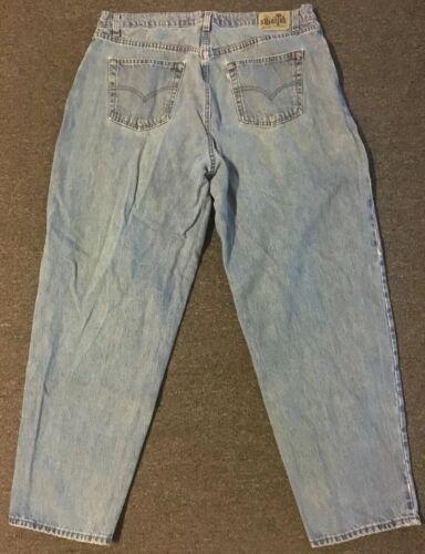 Vtg 90s Levi's Silvertab Baggy Jeans 40/32 USA Dis