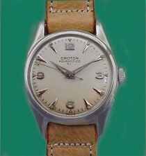 Vintage 50's  CROTON Unusual Construction AQUA-MEDICO Sport Divers(?) EL Watch