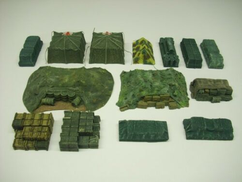 14pc Anyscale Modèles 20 mm Supply Dump