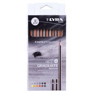 Lyra-1171120-Graduate-Assorted-Graphite-Pencils-Box-of-12-Pieces