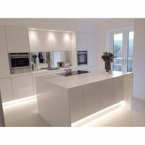 Kitchen Cabinet Suppliers Uk: Kitchen Under Cabinet Kick Board Led Lighting With Power