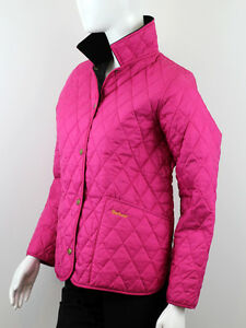 0c9009b2 Image is loading BARBOUR-GIRLS-MAGENTA-QUILTED-JACKET-SIZE-12-13-