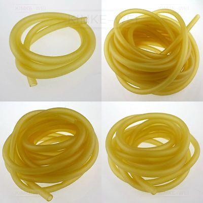 3x5mm Natürlich Latex Gummi Schlauch Schleuder Katapult Elastische Teile 1-10M