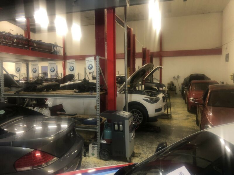 BMW Water Damage Repairs