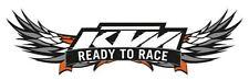 For KTM RC WINDSHIELD READY TO RACE BIKE MOTOBIKE KTM STICKER