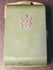 Vintage U.S. Military - Army Shaving Kit - Dice Cards Blade Soap Mirror - AH398