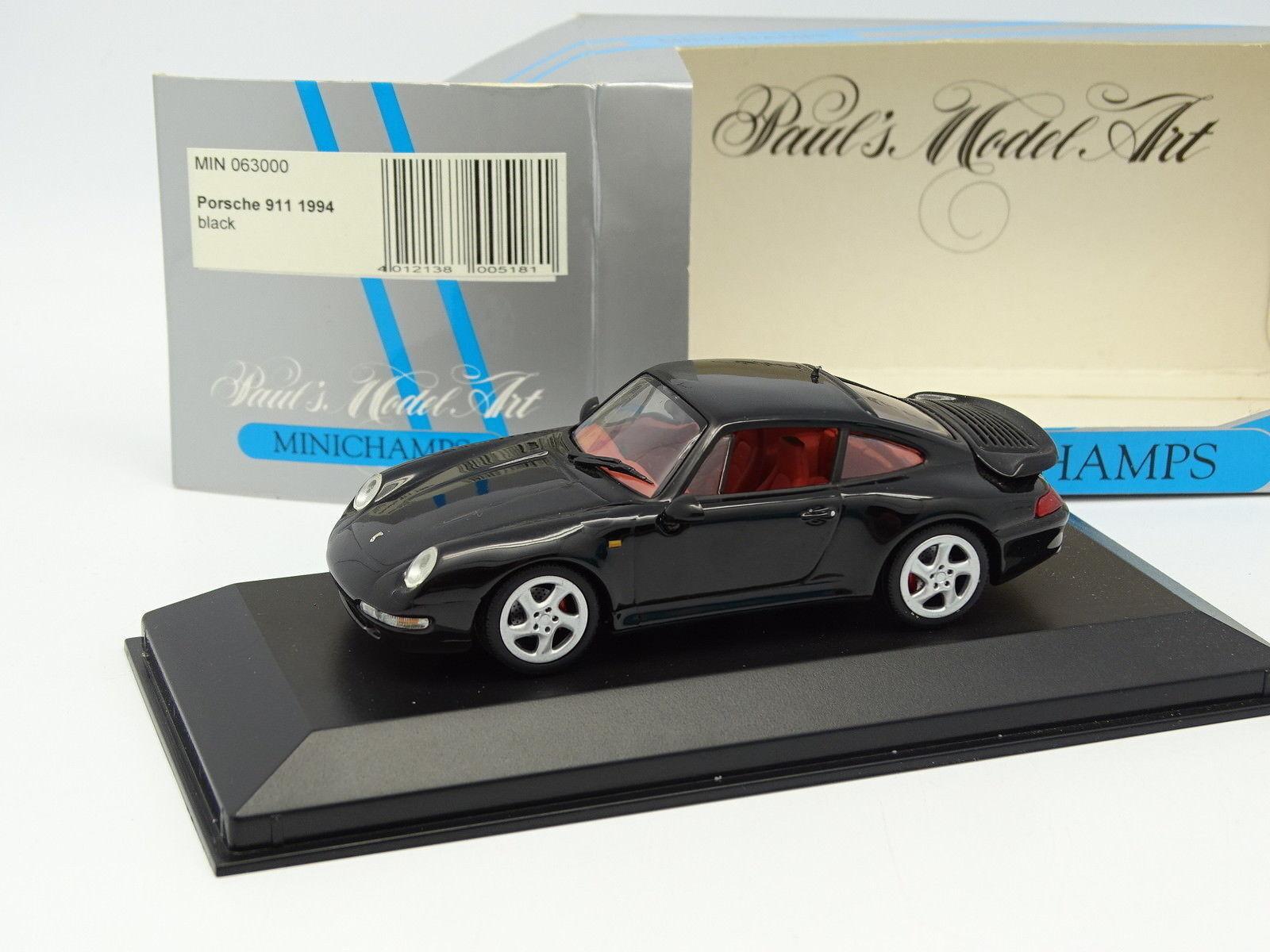 Minichamps 1   43 - porsche 911 targa 1994 schwarz