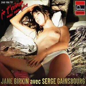 "7"" JANE BIRKIN Je t'aime..moi non plus FONTANA Italy NUR COVER! (Only Sleeve)"