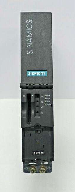 SIEMENS 6SL3040-0MA00-0AA1 SINAMICS CU320 CONTROL UNIT (3G3)