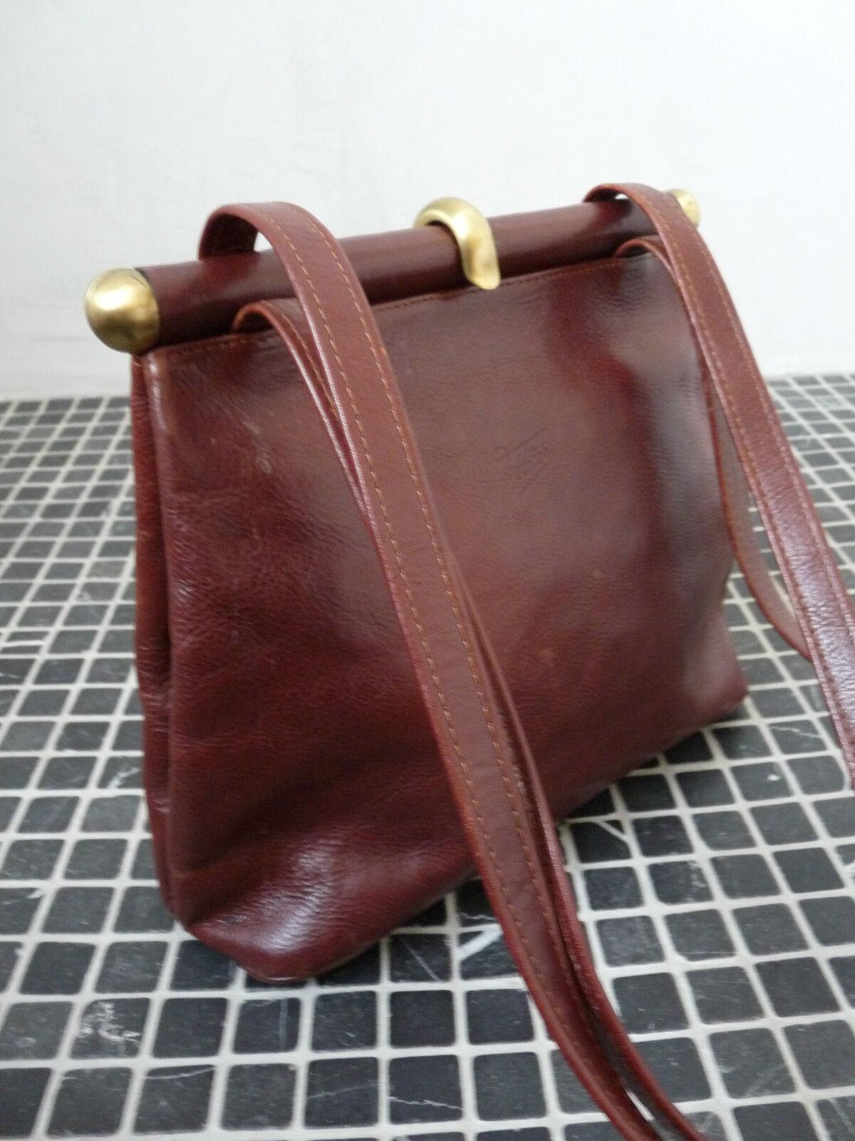 Texier Henkeltasche Schultertasche Tasche Ledertasche TOP made made made in France | Hohe Qualität  880935