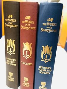 The-Works-Of-Shakespeare-3-Hardback-Book-Collection-VGC-2007