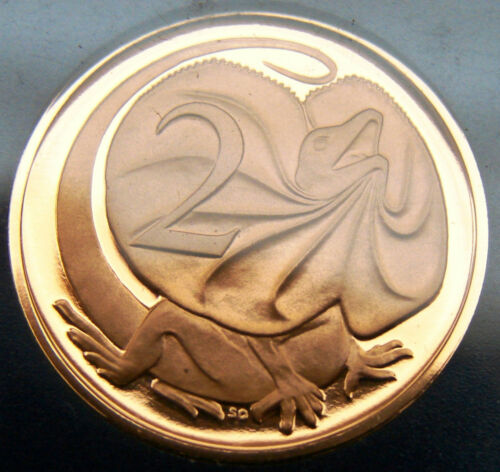 SCARCE LIZARD! No spotting or toning 1978 2 cent proof coin.Only 38,519 made