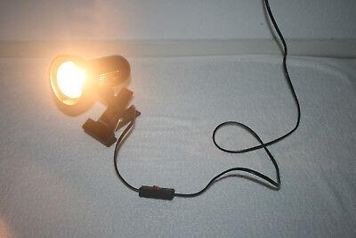 Leuchtmittel Netzkabel U Schalter 180cm Klemmlampe Lampe Schreibtischlampe M