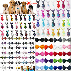 10-50-Pcs-Wholesale-Pet-Dog-Puppy-Necktie-Bow-Tie-Ties-Collar-Grooming-out-lot