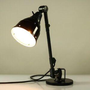 Midgard Tisch Lampe Arbeitsleuchte Curt Fischer Bauhaus Design 20er-40er Vintage QualitäT Und QuantitäT Gesichert Beleuchtung