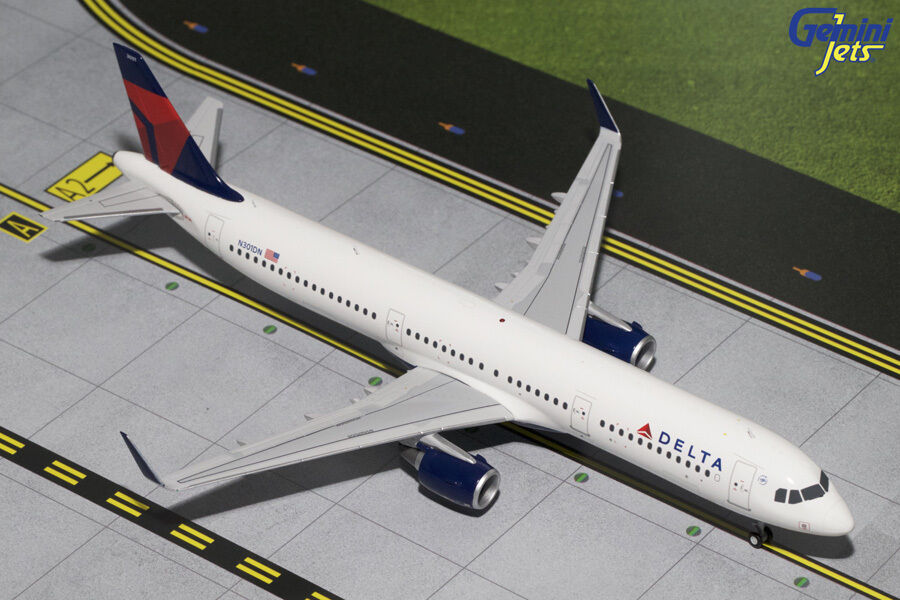 Gemini 200 delta airlines airbus a321 1   200 ein diecast modell   g2dal444