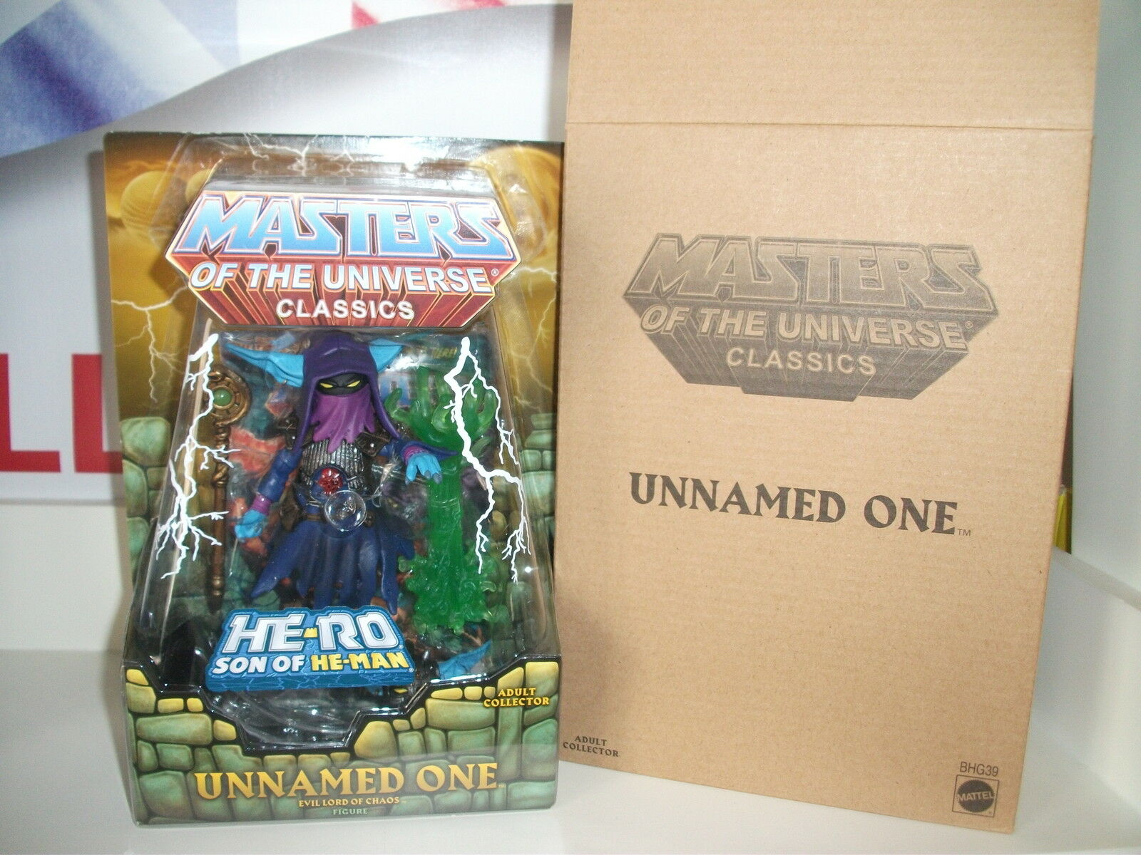 MASTERS OF THE UNIVERSE CLASSIC'S UNNAMED ONE with Comic NEW WITH MAILER