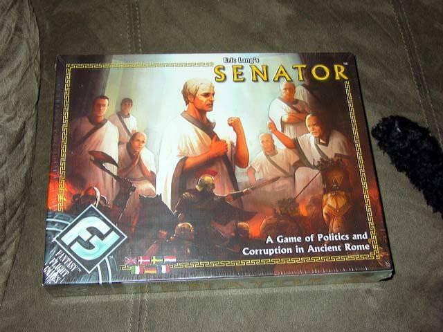 Fantasy flight games - senator - spiel von politik und korruption in rom (gesperrt)